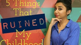 5 Things That ruined My Childhood | Latest Funny Video | MostlySane