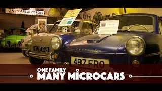 One Family - Many Microcars and Bubble Cars