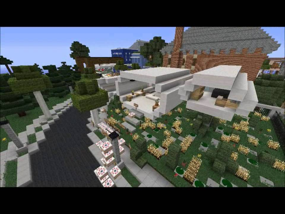 Minecraft  Future House