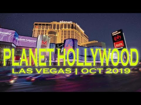 Planet Hollywood  Las Vegas Hotel & Casino Walkthrough Oct 2019