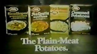 Betty Crocker Potatoes Commercial (1974)