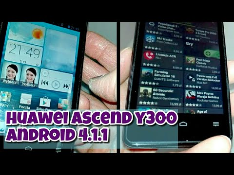 Huawei Ascend Y300 Android 4.1.1