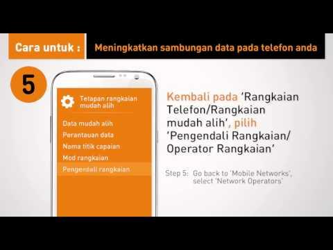 U Mobile - Tingkatkan Sambungan Data Anda