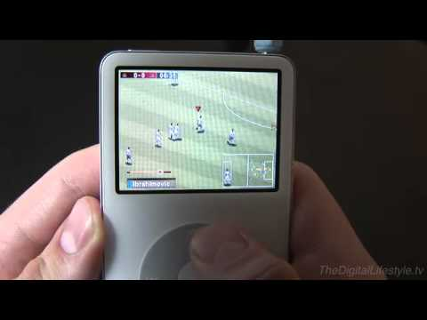 Real Soccer 2009 Ipod Clickwheel Game Review Youtube