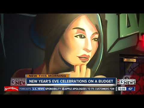 Las Vegas New Year's Eve celebrations on a budget