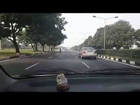 Clean Road Of Chandigarh