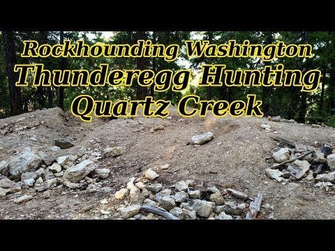 Rockhounding Washington: Little Naches Thundereggs