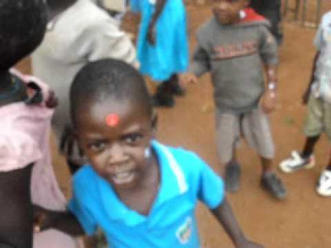 Children of the slums
