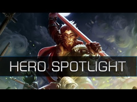 Dota 2 Hero Spotlight – Monkey King