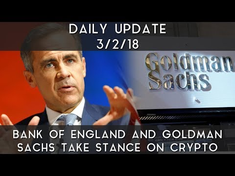 Daily Update (3/2/2018) | Banks take stance on crypto markets