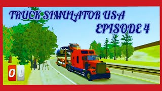 Truck Simulator USA - Best Road For Truckers ( Ovilex Games ) Android Cinematic Gameplay