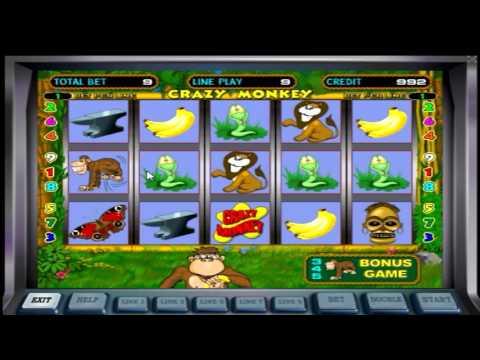 Игровой аппарат Сумасшедшая обезьяна (crazy Monkey) - видео-обзор от Club-vulkano.com