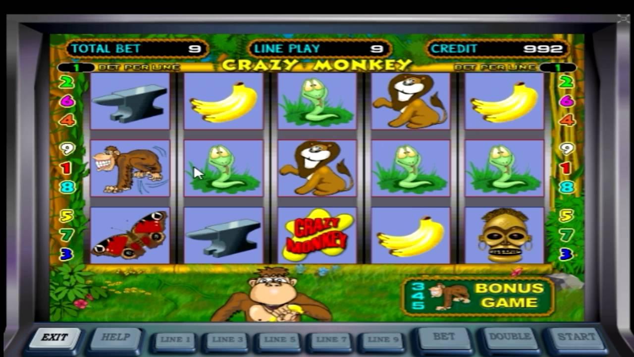 играть крейзи манки азартплей