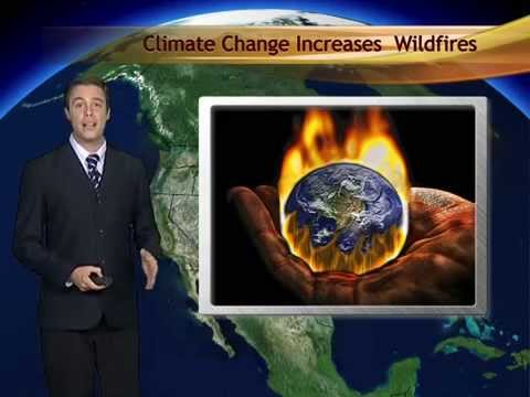 Andy Kline Xinhua News weatherman reports US Wildfires
