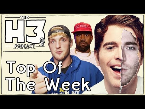 H3 Podcast #87 – Shane & Logan + Kanye vs The World
