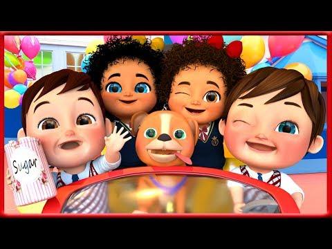 johny-johny-yes-papa-,-baby-shark-,-wheels-on-the-bus-,-happy-birthday-song---banana-cartoon