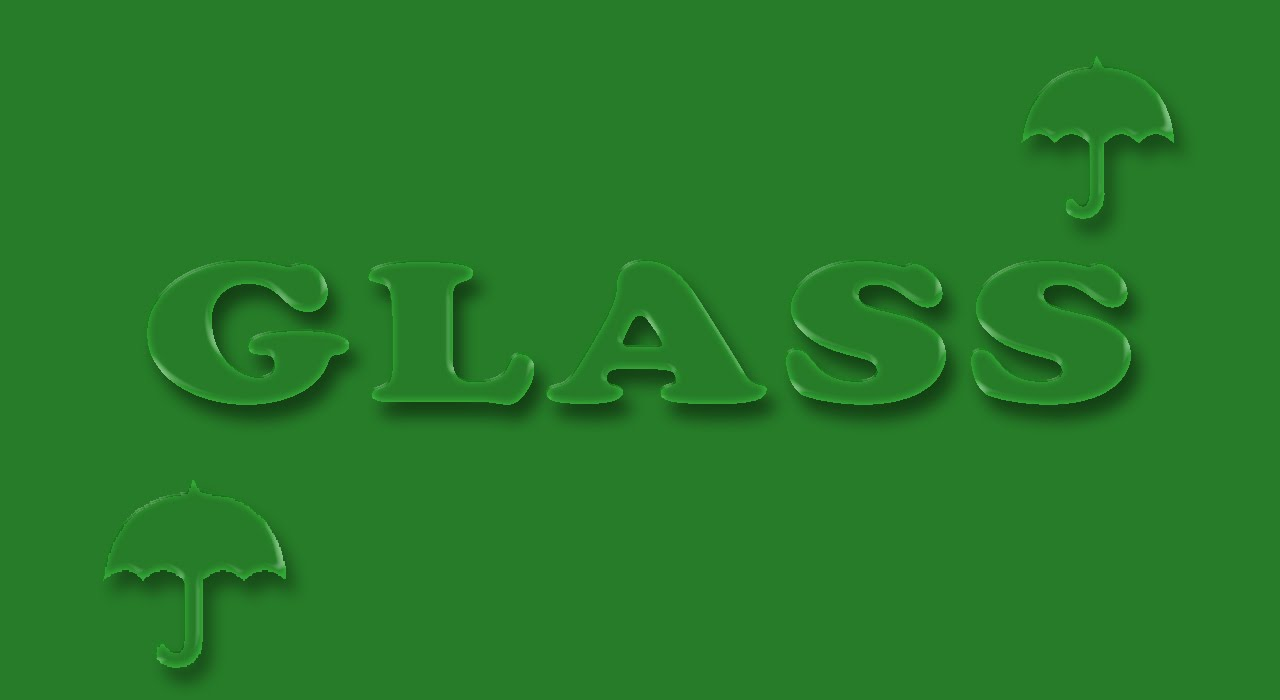 How to create a Glass Text Effect in Photoshop ( in Tamil with Esubs )