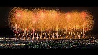 [ 4K Ultra HD ] 長岡花火大会 2016 復興祈願花火 フェニックス Nagaoka Fireworks Festival 2016 Phoenix