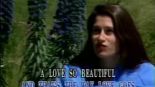 A love so beautiful karaoke lyric