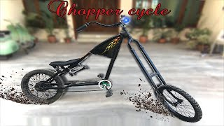 How to build Chopper Bicycle at home