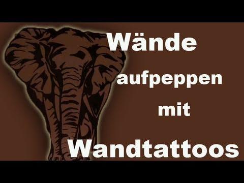 Afrika Wand Dekoration / Wandtattoo