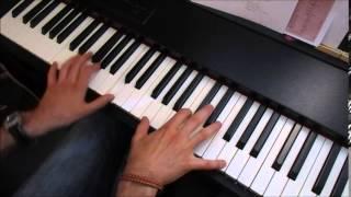 Afrique adieu - Michel Sardou (piano solo)
