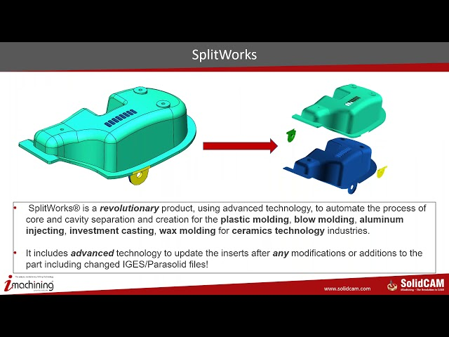 From Part to Mold Insert – Total Process from SolidCAM