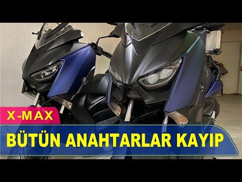 Yamaha Xmax Anahtar Yapımı | Yedek Kopyalama - Oto Anahtarcı İstanbul