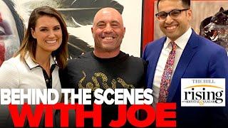 Krystal and Saagar offer exclusive behind the scenes details of their Joe Rogan appearance