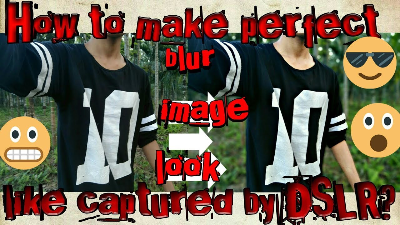 How to make perfect background blur images in PicsArt? /latest update 2018