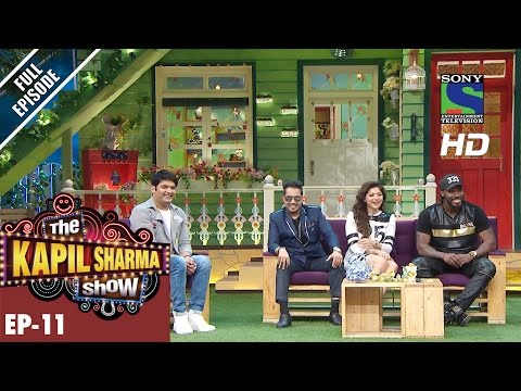 Thumbnail: The Kapil Sharma Show - दी कपिल शर्मा शो–Ep-11-Gayle Storms' while Kanika Sings – 28th May 2016