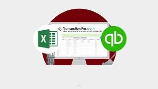 Transaction Pro for QuickBooks Introduction