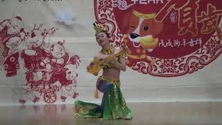 敦煌樂舞《絲路花雨》選段《反彈琵琶》- Shirley Tang
