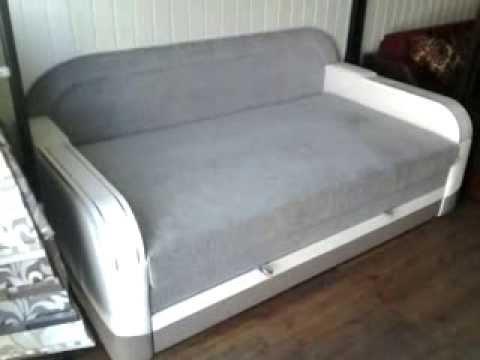 Мега-1 кровать диван - YouTube