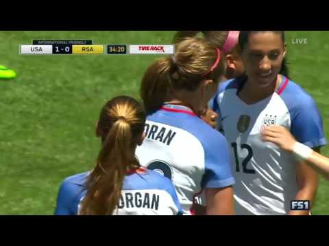 WNT vs. Republic of South Africa: Crystal Dunn Goal - July 9, 2016