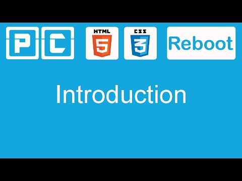 HTML5 and CSS3 beginners tutorial 1 - Introduction - YouTube