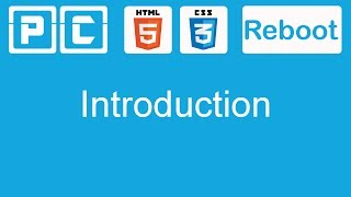 HTML5 and CSS3 beginners tutorial 1 - Introduction