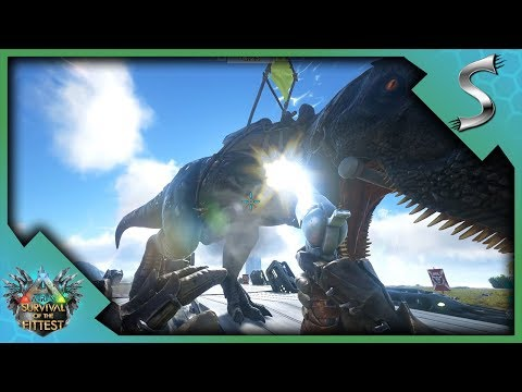 CRAFTING GUNS AND HUNTING FOR PLAYERS! - Ark: Survival of the Fittest [SOTF Gameplay]
