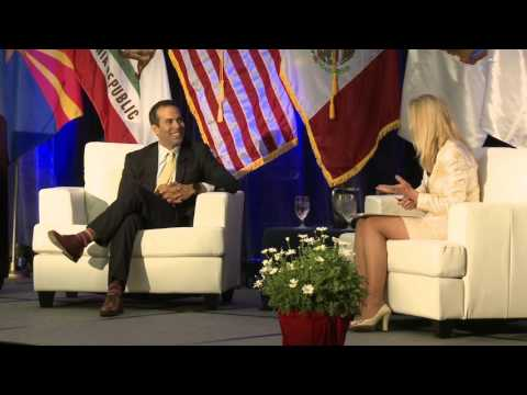 Amanda Brock Interviews George P. Bush at Border Energy Forum