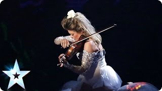 Violinist Lettice Rowbotham gives a hypnotic recital | Britain's Got Talent 2014
