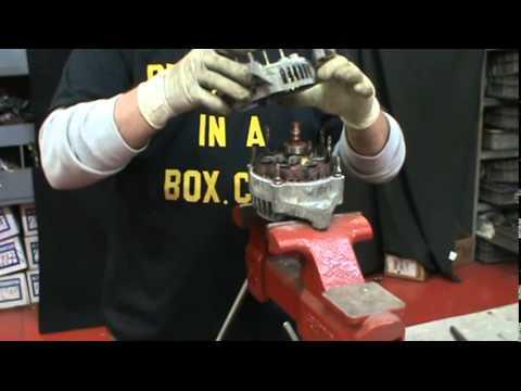 How To Rebuild A Denso Alternator