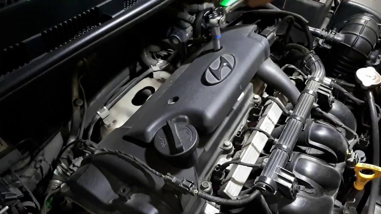 Hyundai Accent 2013 - Spark Plug Check