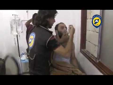 SARAQEB ALLEGED ATTACK WHIT CHLORINE GAS IN SYRIA