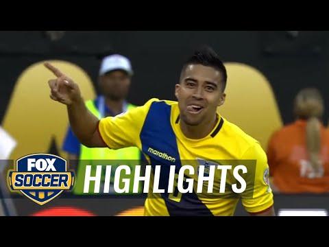 Ecuador vs. Haiti   2016 Copa America Highlights