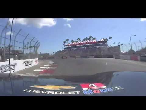 2017 IMSA Weathertech Sportscar Championship Long Beach - Corvette GTLM onboard