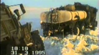 Заполярнефтегазгеология.(Зимник на Тазовской губе на Юрхарово, зимник Газ-Сале -Заполярное., 2011-04-05T15:04:16.000Z)