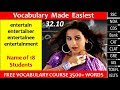 vocabulary made EASIEST 32.10 learn etymology by puneet biseria in Hindi
