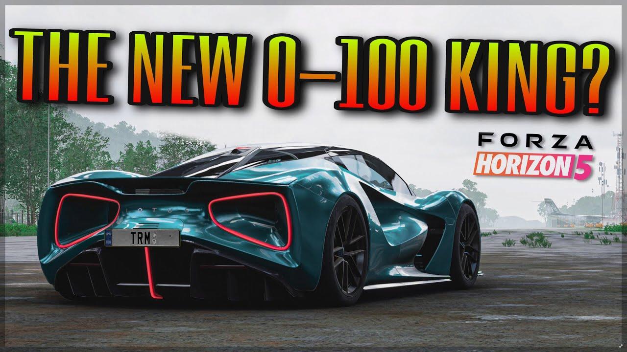 Forza Horizon 5 | NEW Lotus Evija | How much power do you want? Yes.