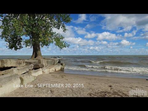 48 Seconds At The Lake, Huntington Beach, Bay Village, Ohio, Lake Erie - Drone - Cleveland SkyEye