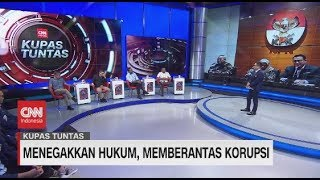 100 Hari Jokowi-Ma'ruf: Menegakkan Hukum, Memberantas Korupsi
